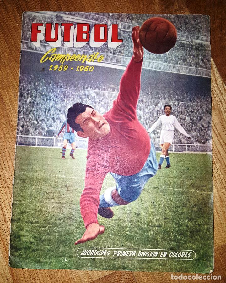 FUTBOL CAMPEONATO 1959 -1960 FERCA COMPLETO UN DOBLE POR CADA EQUIPO (Coleccionismo Deportivo - Álbumes y Cromos de Deportes - Álbumes de Fútbol Completos)