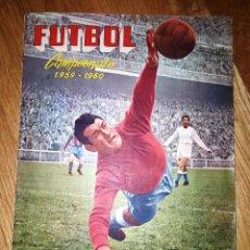 Álbum de fútbol completo: FUTBOL CAMPEONATO 1959 -1960 FERCA COMPLETO UN DOBLE POR CADA EQUIPO. Lote 146214338
