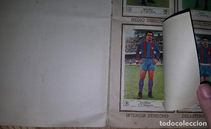 Álbum de fútbol completo: FUTBOL CAMPEONATO 1959 -1960 FERCA COMPLETO UN DOBLE POR CADA EQUIPO - Foto 3 - 146214338
