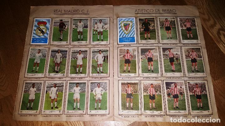 Álbum de fútbol completo: FUTBOL CAMPEONATO 1959 -1960 FERCA COMPLETO UN DOBLE POR CADA EQUIPO - Foto 4 - 146214338