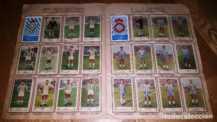 Álbum de fútbol completo: FUTBOL CAMPEONATO 1959 -1960 FERCA COMPLETO UN DOBLE POR CADA EQUIPO - Foto 7 - 146214338