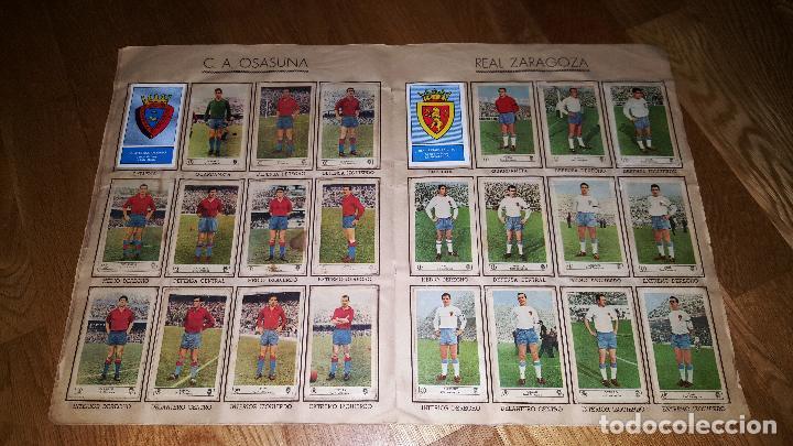 Álbum de fútbol completo: FUTBOL CAMPEONATO 1959 -1960 FERCA COMPLETO UN DOBLE POR CADA EQUIPO - Foto 8 - 146214338