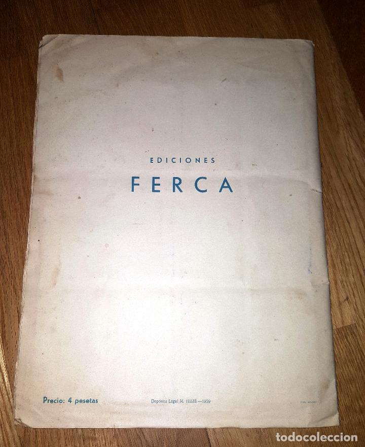 Álbum de fútbol completo: FUTBOL CAMPEONATO 1959 -1960 FERCA COMPLETO UN DOBLE POR CADA EQUIPO - Foto 13 - 146214338