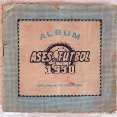 Álbum de fútbol completo: ALBUM FUTBOL , ASES DEL FUTBOL , 1950 , BRUGUERA , COMPLETO , MUY RARO, ORIGINAL. Lote 146402002