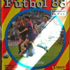 Álbum de fútbol completo: FUTBOL 88. Lote 146648386