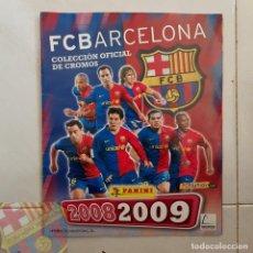 Álbum de fútbol completo: FC BARCELONA BARÇA ALBUM COMPLETO PANINI TEMP 2008-09 FIRMADO PLANTILLA TRIPLETE. Lote 146889306