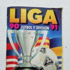 Álbum de fútbol completo: ALBUM ESTE 90-91 (INCLUYE MARINA, RUGGIERI, POYET, NILSSON, ETC). Lote 147104846
