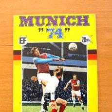 Álbum de fútbol completo: ÁLBUM - MUNICH 74 - X CAMPEONATOS MUNDIALES DE FÚTBOL 1974 - EDITORIAL FHER - COMPLETO. Lote 147212118