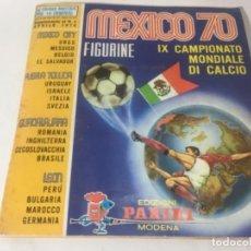 Álbum de fútbol completo: DIFÍCIL ALBUM ORIGINAL FÚTBOL COMPLETO MÉXICO 70 EDIZIONI PANINI TODAS LAS PAGINAS FOTOGRAFÍADAS. Lote 147471166