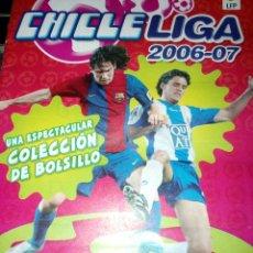 Álbum de fútbol completo: CHICLE LIGA 2006 2007 COLECCION COMPLETA BIEN PEGADA PANINI MIRAR FOTOGRAFIAS. Lote 147494072