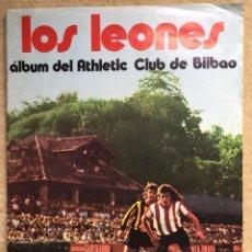 Álbum de fútbol completo: ÁLBUM COMPLETO CROMOS LOS LEONES ATHLETIC DE BILBAO - FÚTBOL - LA GACETA DEL NORTE CHOCOLATE SUCHARD. Lote 147574602