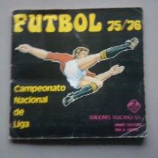 Álbum de fútbol completo: ALBUM COMPLETO VULCANO 1975 1976 75 76. Lote 147617274
