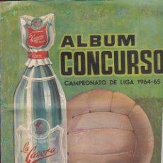 Álbum de fútbol completo: 9931- ALBUM COMPLETO DEL CONCURSO CAMPEONATO DE LIGA 1964 65/64 65 -LA CASERA. Lote 147621194