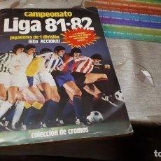 Álbum de fútbol completo: ALBUM ESTE 81 82 CON TODO LO EDITADO MENOS KUSTUDIC ( VER FOTOS DE TODO ). Lote 147743034