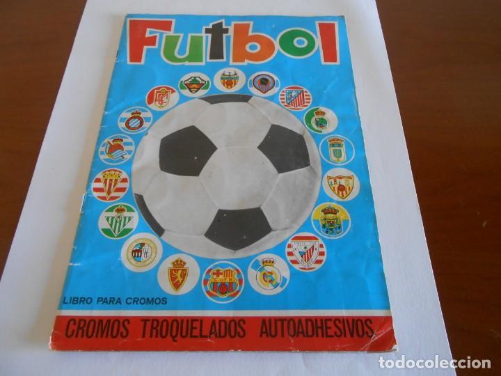 FUTBOL MAGA ALBUM DE CROMOS TROQUELADOS COMPLETO 1975 (Coleccionismo Deportivo - Álbumes y Cromos de Deportes - Álbumes de Fútbol Completos)