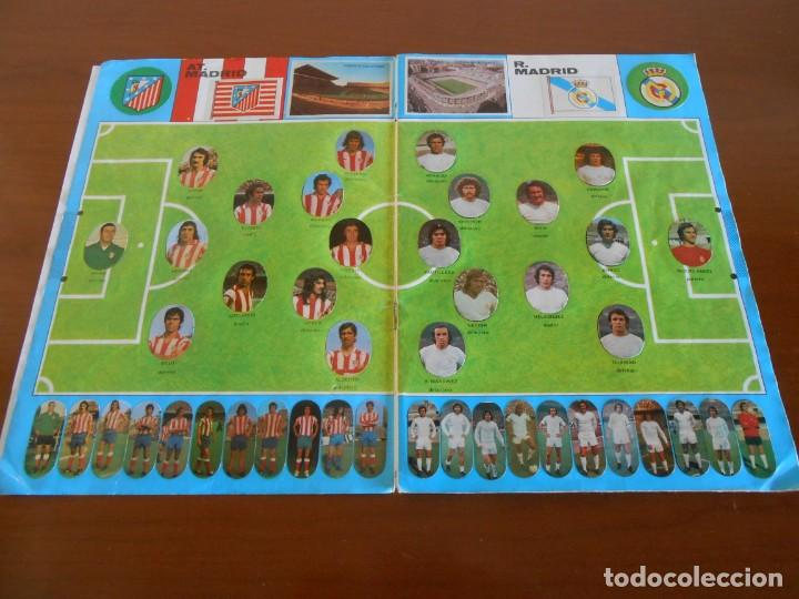 Álbum de fútbol completo: FUTBOL MAGA ALBUM DE CROMOS TROQUELADOS COMPLETO 1975 - Foto 2 - 147826322