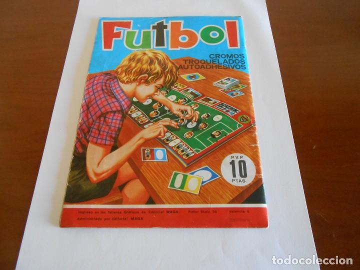 Álbum de fútbol completo: FUTBOL MAGA ALBUM DE CROMOS TROQUELADOS COMPLETO 1975 - Foto 3 - 147826322