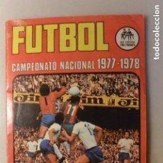 Álbum de fútbol completo: ALBUM CROMOS COMPLETO FUTBOL 1977/78 ED. RUIZ ROMERO. Lote 147982774