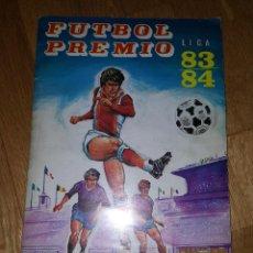 Álbum de fútbol completo: ALBUM FUTBOL PREMIO LIGA 83 / 84 MAGA + SOBRE CROMOS. Lote 147987462