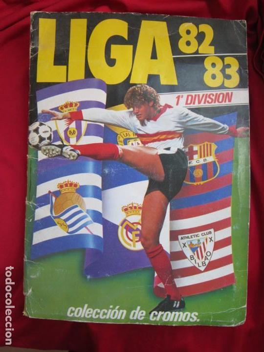 ALBUM COMPLETO CAMPEONATO DE LIGA 82-83. EDICIONES ESTE (Coleccionismo Deportivo - Álbumes y Cromos de Deportes - Álbumes de Fútbol Completos)