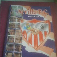 Álbum de fútbol completo: SEVILLA F.C.-ESTADIO DEPORTIVO 1996 ,TEMPORADA 96/97 -COMPLETO. Lote 148069066