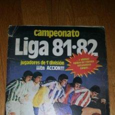 Álbum de fútbol completo: ALBUM EDICIONES ESTE 81 / 82 1981 1982. Lote 148134878