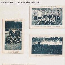 Álbum de fútbol completo: COLECCIÓN COMPLETA CAMPEONATO DE ESPAÑA 1927-28 CHOCOLATES JUNCOSA. Lote 148160840