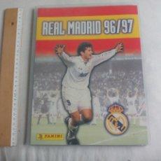 Álbum de fútbol completo: COLECCION COMPLETA ALBUM DE CROMOS LIGA REAL MADRID 96/97 - TRADING CARDS PANINI EN ARCHIVADOR. Lote 148239714
