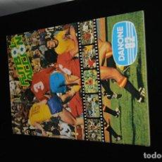 Álbum de fútbol completo: FUTBOL EN ACCION DANONE 82.ALBUM COMPLETO. Lote 148242654