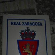 Álbum de fútbol completo: REAL ZARAGOZA 1932-1995 ÁLBUM DE CROMOS. Lote 148349022