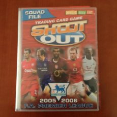 Álbum de fútbol completo: MAGIC BOX INT.SHOOT OUT 2005-2006 PREMIER LEAGUE. Lote 148525697