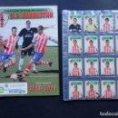 Álbum de fútbol completo: ALBUM COMPLETO DE FUTBOL / U.D. BARBASTRO 2010-2011 / 279 CROMOS / HUESCA / LIMITADO / MUY RARO. Lote 148556362