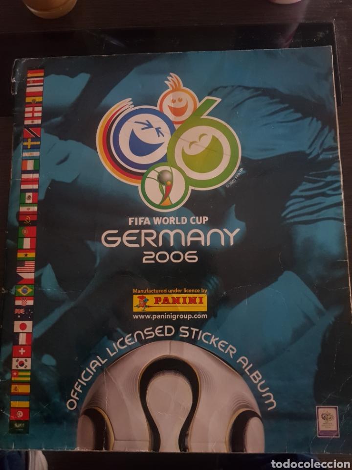 ÁLBUM FUTBOL GERMANY 2006 MUNDIAL DE ALEMANIA (Coleccionismo Deportivo - Álbumes y Cromos de Deportes - Álbumes de Fútbol Completos)