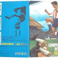 Álbum de fútbol completo: ALBUM 1971 1972 FHER DISGRA CAMPEONATO LIGA 71 72 CON POSTER COMPLETO. EXCELENTE ESTADO. Lote 75694647