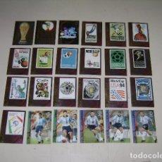 Álbum de fútbol completo: MUNDIAL PANINI KOREA JAPÓN 2002 CARDS COLECCIÓN DE ORO - 100% COMPLETO. Lote 27985744