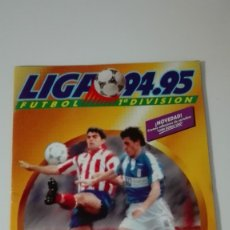 Álbum de fútbol completo: ÁLBUM LIGA 95-96. EDICIONES ESTE.. Lote 53031096
