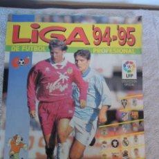 Álbum de fútbol completo: ÁLBUM DE CROMOS COMPLETO PANINI DE LA LIGA DE FUTBOL 94'95. Lote 149515070