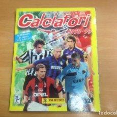 Álbum de fútbol completo: ALBUM DE CROMOS COMPLETO CALCIATORI 1998-1999 CAMPIONATO DI CALCIO SERIE A-B-C1-C2 EDITA PANINI. Lote 149845614