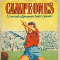 Álbum de fútbol completo: CAMPEONES 1948-49 COMPLETO, SIN HUECOS EN EL ALBUM. LEER COMENTARIOS. Lote 149886006