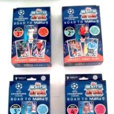Álbum de fútbol completo: TOPPS MATCH ATTAX UEFA CHAMPIONS LEAGUE 2018 2019 - ROAD TO MADRID 19 - ACTUALIZACIÓN 18 19. Lote 175225243