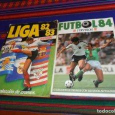 Álbum de fútbol completo: FÚTBOL 84 1ª DIVISIÓN CROMOS CANO COMPLETO BUEN ESTADO Y LIGA ESTE 1982 1983 82 83 COMPLETO.. Lote 150527230