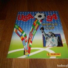 Álbum de fútbol completo: ÁLBUM DE CROMOS - MUNDIAL DE FÚTBOL - USA 94 - PANINI - COMPLETO BUEN ESTADO. Lote 150972262