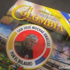 Álbum de fútbol completo: ALBUM MUNDIAL FUTBOL SELECCION COLOMBIA LLENO COMPLETO RAREZA RARO. Lote 151290150