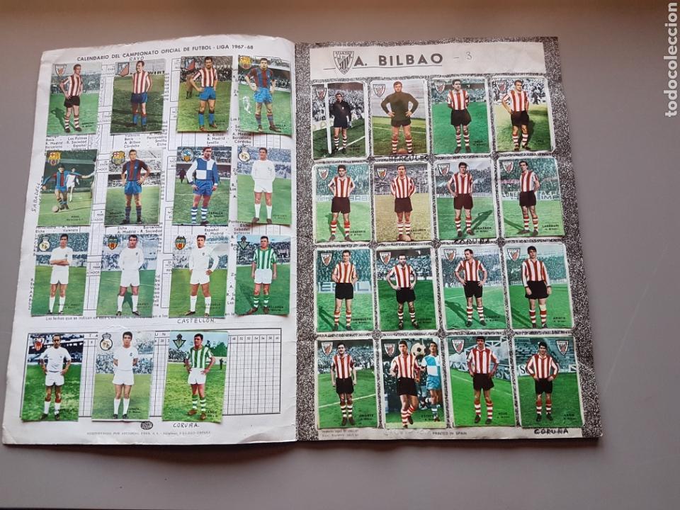 Álbum de fútbol completo: ALBUM COMPLETO JOYA LIGA FHER DISGRA 67 68 1967 1968 CON 15 DOBLES Y TODOS LOS ESCUDOS - Foto 2 - 151484452