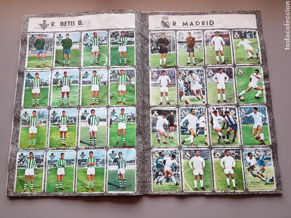 Álbum de fútbol completo: ALBUM COMPLETO JOYA LIGA FHER DISGRA 67 68 1967 1968 CON 15 DOBLES Y TODOS LOS ESCUDOS - Foto 8 - 151484452