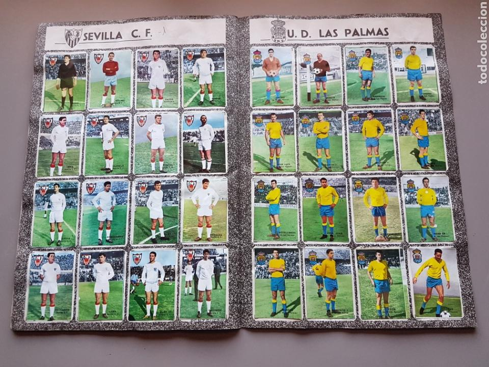 Álbum de fútbol completo: ALBUM COMPLETO JOYA LIGA FHER DISGRA 67 68 1967 1968 CON 15 DOBLES Y TODOS LOS ESCUDOS - Foto 10 - 151484452