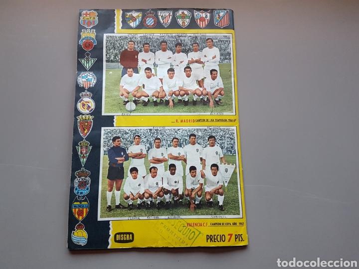 Álbum de fútbol completo: ALBUM COMPLETO JOYA LIGA FHER DISGRA 67 68 1967 1968 CON 15 DOBLES Y TODOS LOS ESCUDOS - Foto 13 - 151484452