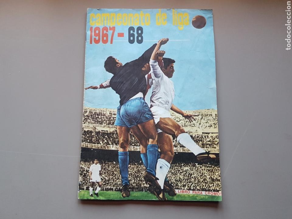 ALBUM COMPLETO JOYA LIGA FHER DISGRA 67 68 1967 1968 CON 15 DOBLES Y TODOS LOS ESCUDOS (Coleccionismo Deportivo - Álbumes y Cromos de Deportes - Álbumes de Fútbol Completos)