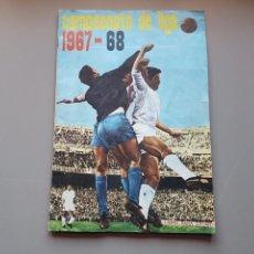 Álbum de fútbol completo: ALBUM COMPLETO JOYA LIGA FHER DISGRA 67 68 1967 1968 CON 15 DOBLES Y TODOS LOS ESCUDOS. Lote 151484452