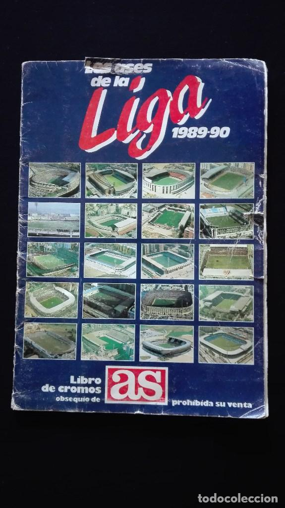 ALBUM CROMOS LIGA 89-90 (Coleccionismo Deportivo - Álbumes y Cromos de Deportes - Álbumes de Fútbol Completos)